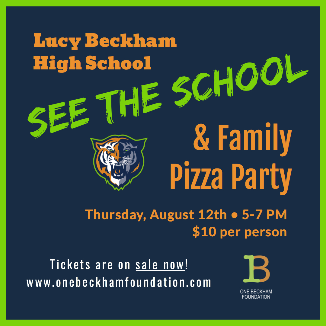 See the School FAMILY Pizza Party